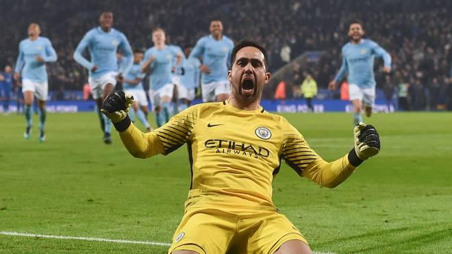 Claudio Bravo sichert Manchester City den Sieg im Ligapokal