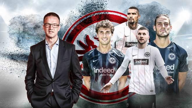 Fredi Bobic formt seine Eintracht Frankfurt nach dem Abgang von vielen Stammspielern und Trainer Niko Kovac neu