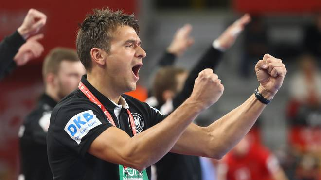 Handball-WM 2019 im Free-TV: ARD und ZDF sichern sich Rechte   , Bundestrainer Christian Prokop will mit der deutschen Mannschaft bei der Heim-WM durchstarten