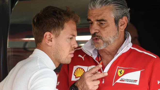Maurizio Arrivabene ist Teamchef von Vettel-Team Ferrari