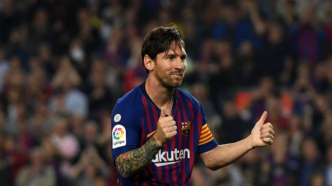Lionel Messi steht beim FC Barcelona vor dem Comeback