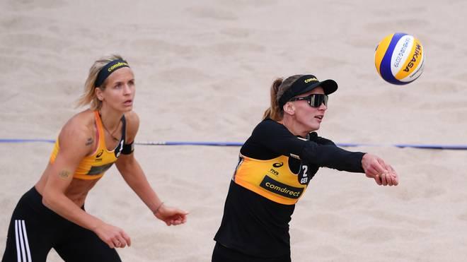 Laura Ludwig und Margareta Kozuch verloren zum Auftakt gegen ein Schweizer Duo