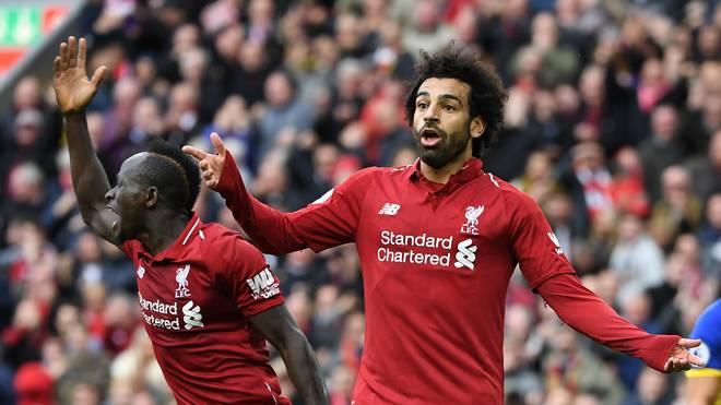 Mo Salah wurde Dritter der Weltfußballerwahl, war aber offenbar nicht gut genug für die Top11