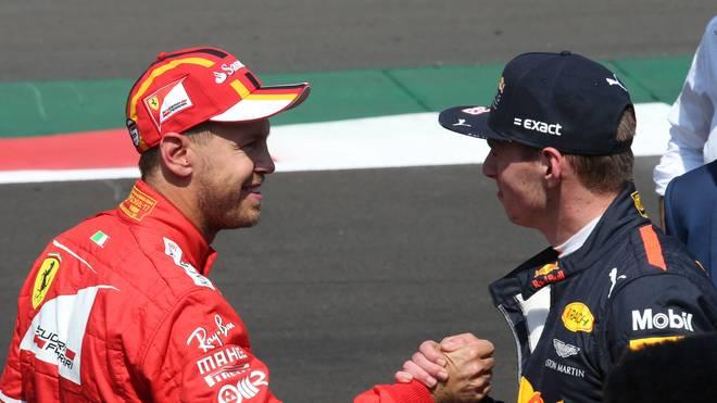 Max Verstappen entschuldigte sich bei Sebastian Vettel für seinen Fehler