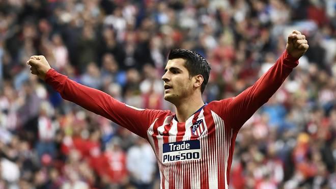 Álvaro Morata wird von Atlético Madrid fest verpflichtet