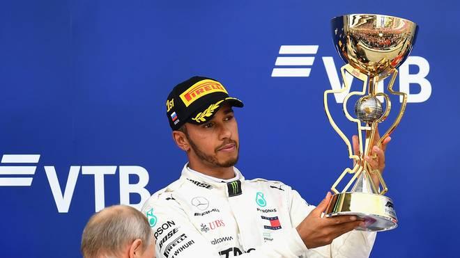 Lewis Hamilton hat als erster Fahrer mehr als 2000 Punkte mit dem selben Team eingefahren
