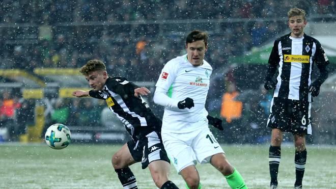Borussia Moenchengladbach v SV Werder Bremen - Bundesliga
