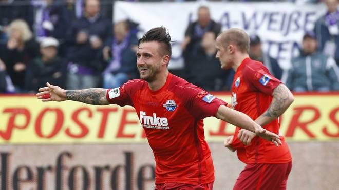 Robin Krausse brachte den SC Paderborn in Führung