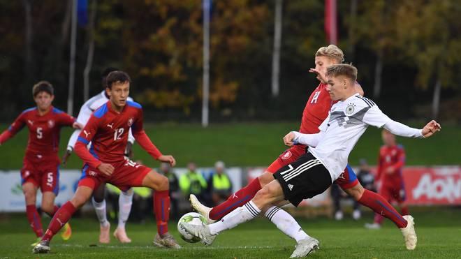 Germany U17 v Czech Republic U17 - U17 International Tournament