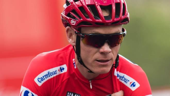 Chris Froome wartet noch auf einen Vuelta-Gesamtsieg