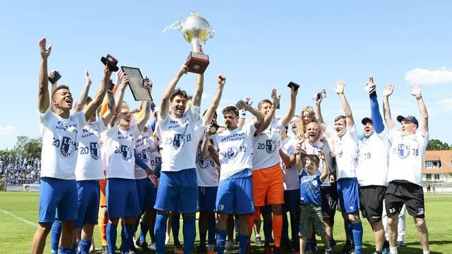 Im vergangenen Jahr gewann der 1. FC Magdeburg den Landespokal in Sachsen-Anhalt