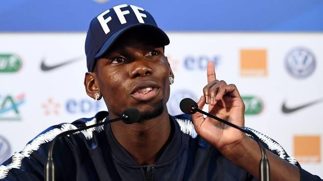 Paul Pogba setzt sich für Antoine Griezmann ein