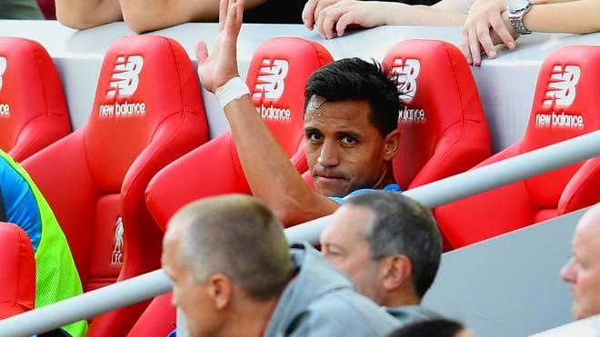 Alexis Sanchez könnte sein letztes Spiel für den FC Arsenal absolviert haben