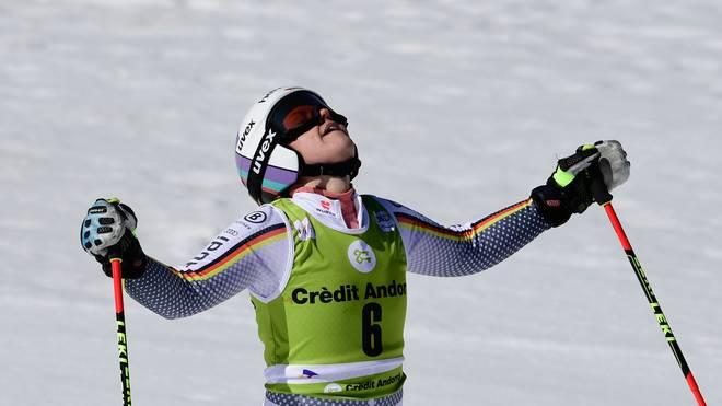 Ski Alpin: Viktoria Rebensburg verpasst Podest bei Shiffrin-Sieg