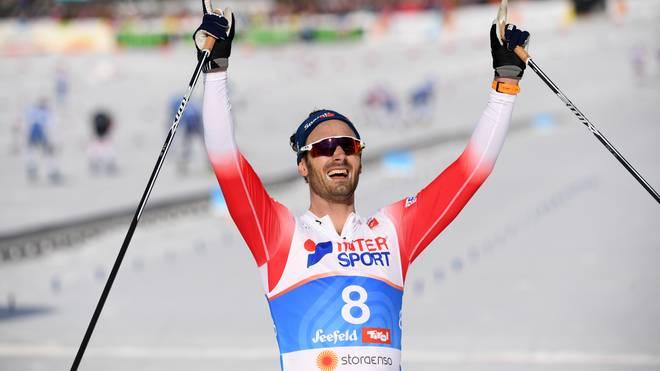Christer Holund gewann das 13. WM-Gold für Norwegen