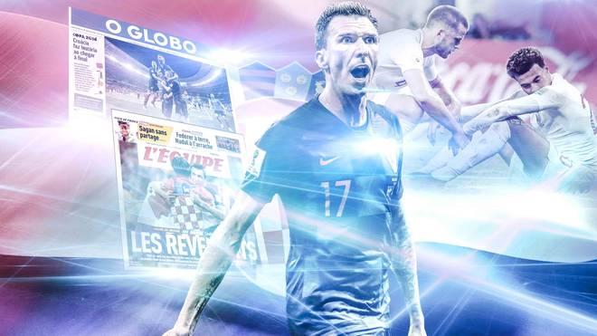 Das Presseecho zum WM-Halbfinale England gegen Kroatien