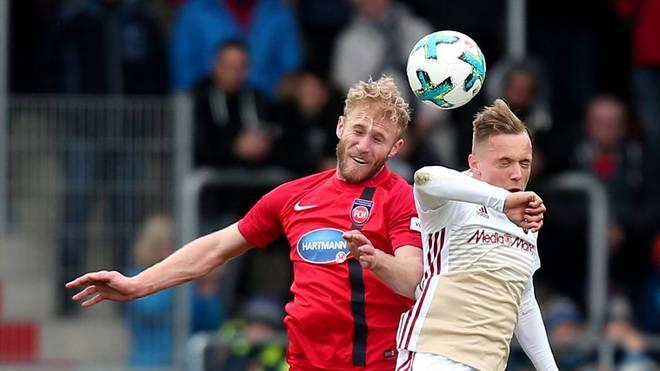 Heidenheim und Ingolstadt liefern sich ein umkämpftes Duell