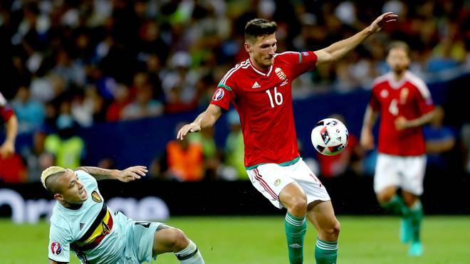 Adam Pinter scheiterte bei der EM mit Ungarn im Achtelfinale an Belgien