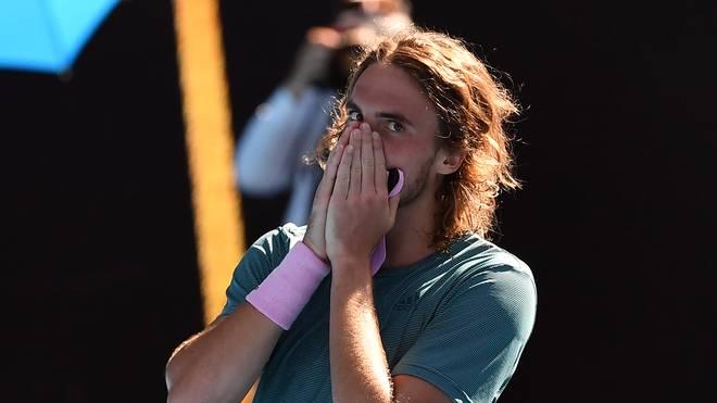 Stefanos Tsitsipas kämpft gegen Rafael Nadal um den Final-Einzug bei den Australian Open