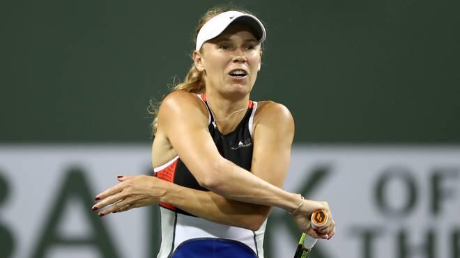 Caroline Wozniacki scheiterte in Miami in der 2. Runde