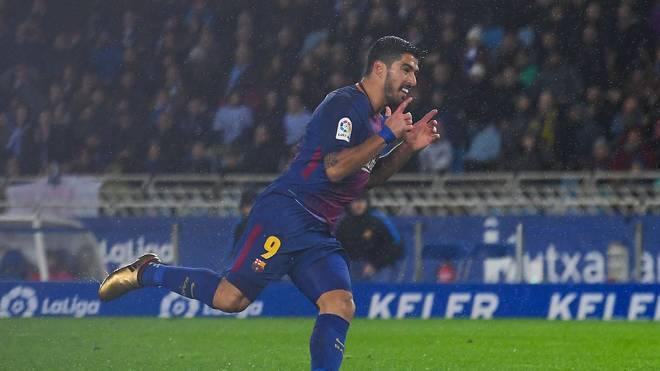 Luis Suarez leitete die Wende für den FC Barcelona ein