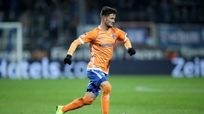 Marcel Heller traf zum späten Sieg des SV Darmstadt gegen den 1. FC Magdeburg