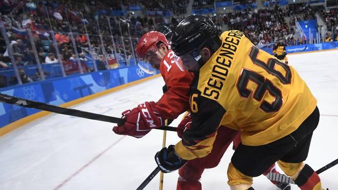 Deutschland und Russland standen sich beim packenden Olympia-Finale in Pyeongchang gegenüber