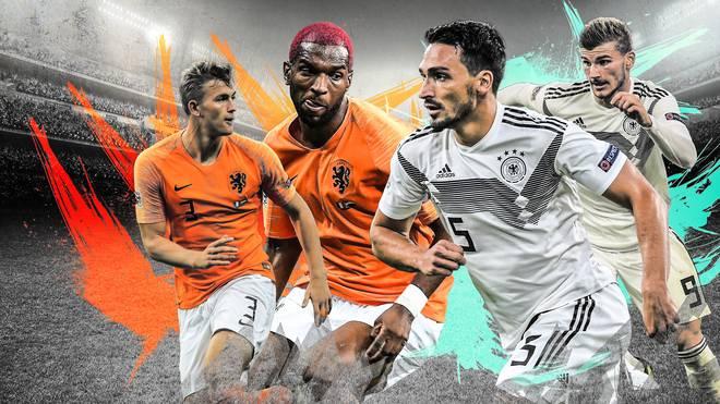 Nations League Niderlande Deutschland Schlüsselduelle