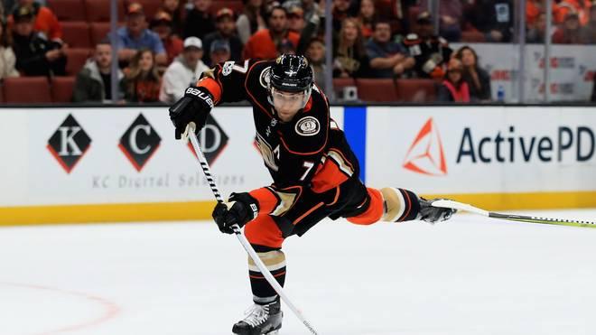 Andrew Cogliano von den Anaheim Ducks spielte 830 NHL-Hauptrundenspiele hintereinander