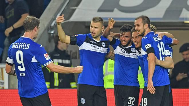 Arminia Bielefeld übernimmt mit einem Sieg über Bochum die Tabellenführung in der 2. Liga