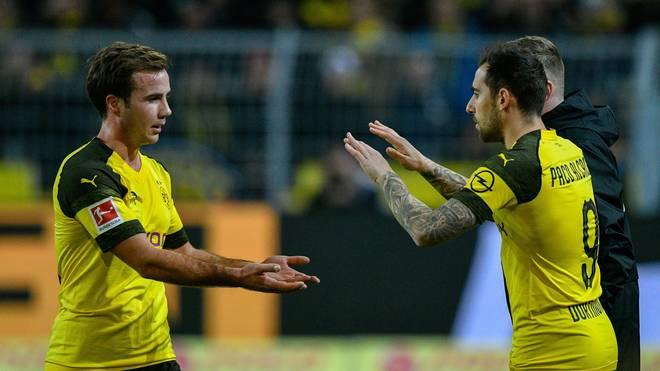 Mario Götze und Paco Alcacer steigen beim BVB wieder ins Training ein