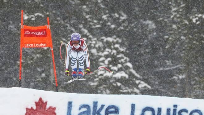 Viktoria Rebensburg fehlten nur 0,13 Sekunden zum Sieg