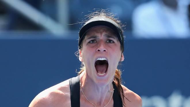 Tennis: Turnier mit Sabine Lisicki und Andrea Petkovic in Guangzhou  , Andrea Petkovic steht im chinesischen Guangzhou im Viertelfinale