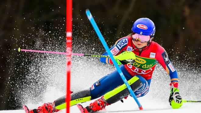 Mikaela Shiffrin dominierte in Kranjska Gora