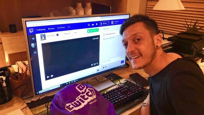 Mesut Özil ist offizieller Twitch-Partner