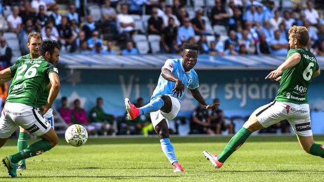 Kingsley Sarfo steht bei Malmö FF unter Vertrag