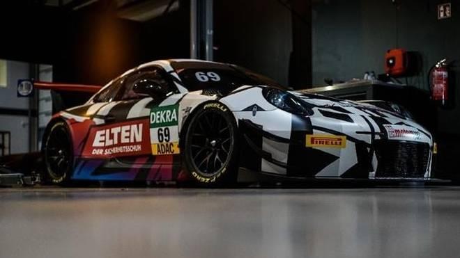 Mit diesem Porsche 911 GT3 R startet Ring Police 2018 im GT-Masters