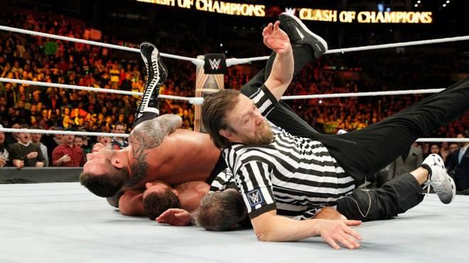 Daniel Bryan (r.) und Shane McMahon kooperierten bei WWE Clash of Champions 2017 nicht erfolgreich