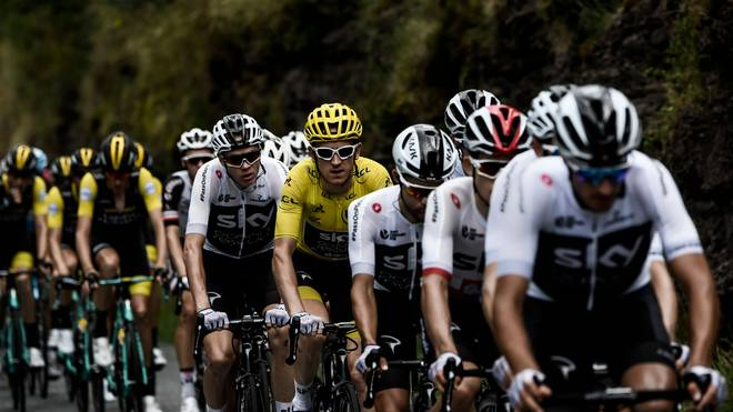 Sky wird bereits bei der Tour de Romandie unter dem neuen Namen Ineos starten