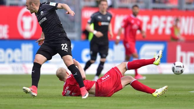 2 Bundesliga 33 Spieltag Würzburger Kickers Sv Sandhausen