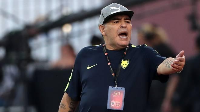 Diego Maradona war zuletzt in den Vereinigten Arabischen Emirate