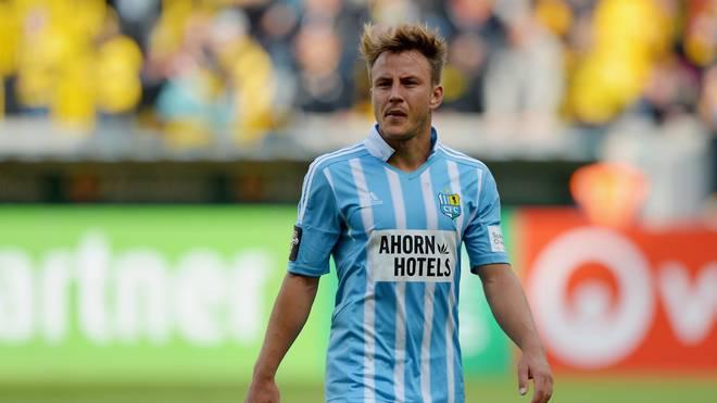 Fabian Stenzel steht beim Chemnitzer FC unter Vertrag