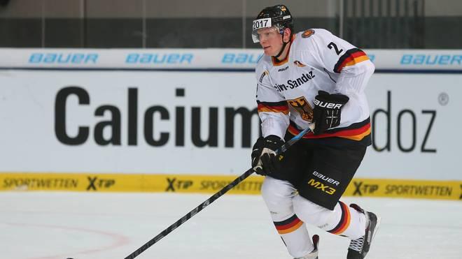 Denis Reul spielt in der DEL für die Adler Mannheim