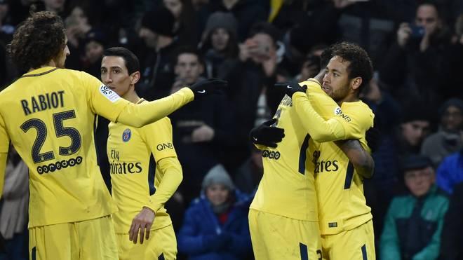 Paris Saint-Germain mit Brasiliens Superstar Neymar soll die Asiaten begeistern