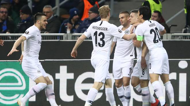 Eintracht Frankfurt schaltete im Achtelfinale Inter Mailand aus