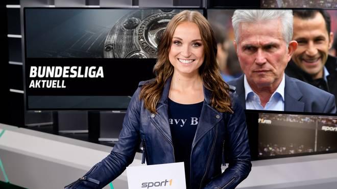 Nele Schenker führt am freitag durch Bundesliga Aktuell