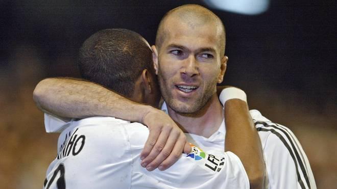 Zinedine Zidane spielte von 2001 bis 2006 bei Real Madrid