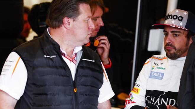 Zak Brown & Fernando Alonso: Indy 500 2019 möglich, voll IndyCar nicht vor 2020