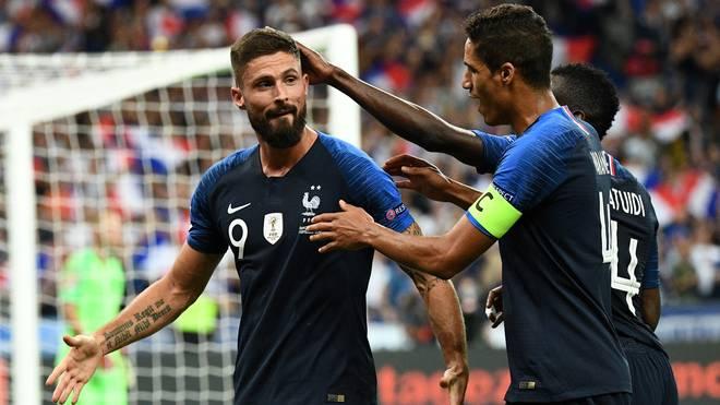 Olivier Giroud erzielte das Siegtor für Frankreich gegen die Niederlande