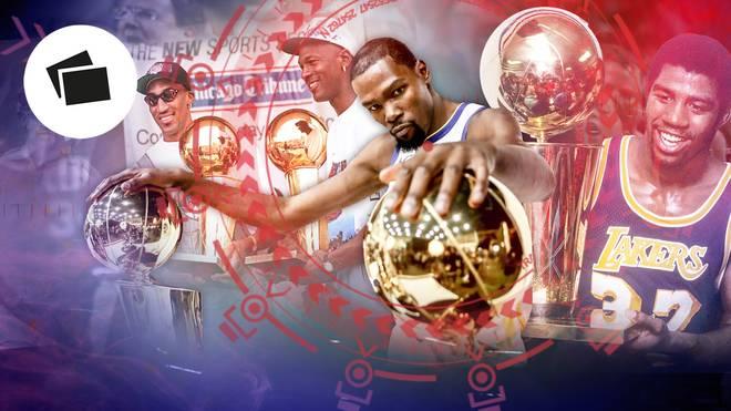 Die größten Dynastien der NBA-Geschichte